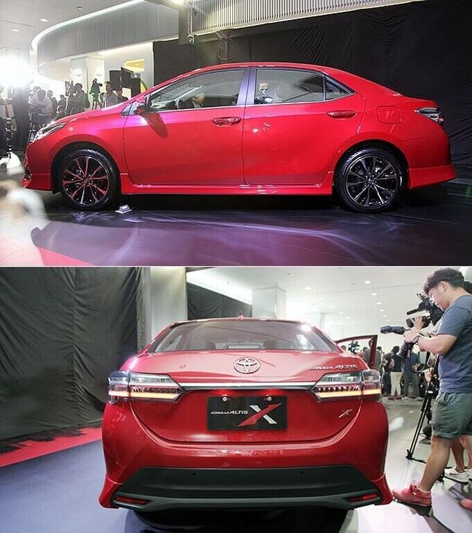 Toyota Corolla Altis X 2017 ra mắt Đài Loan với giá bán từ 589 triệu VNĐ - Hình 2