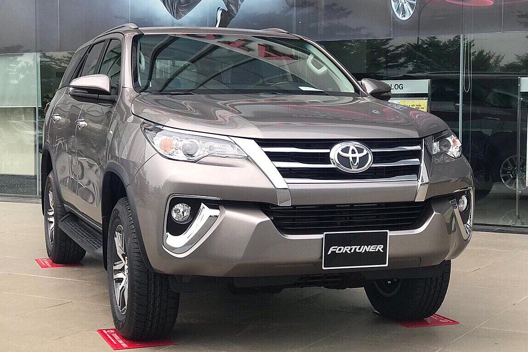 Fortuner đời 2019 tại một đại lý ở Hà Nội. Ảnh: Toyota Giải Phóng