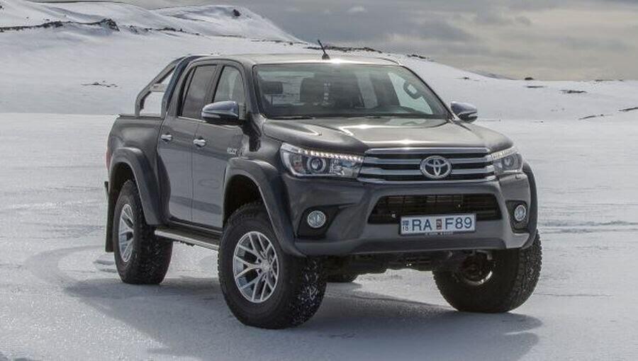 Toyota giới thiệu phiên bản Hilux Arctic Trucks AT35 mới - Hình 1