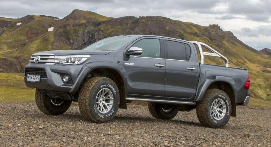 Toyota giới thiệu phiên bản Hilux Arctic Trucks AT35 mới - Hình 2