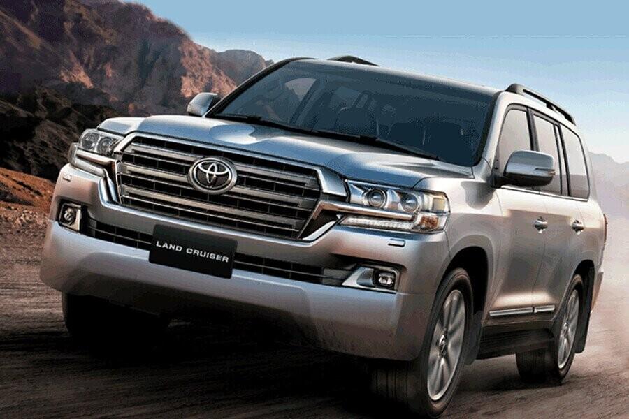 Tổng quan Toyota Land Cruiser - Hình 1