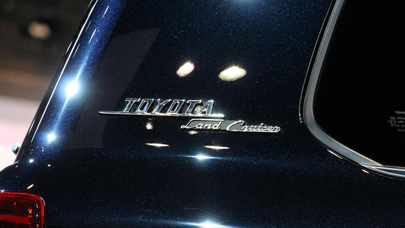 Toyota Land Cruiser phiên bản đặc biệt kỷ niệm 60 năm