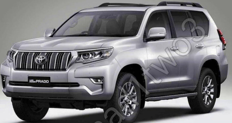 """Toyota Land Cruiser Prado 2018 tiếp tục lộ """"ảnh nóng"""" - Hình 1"""
