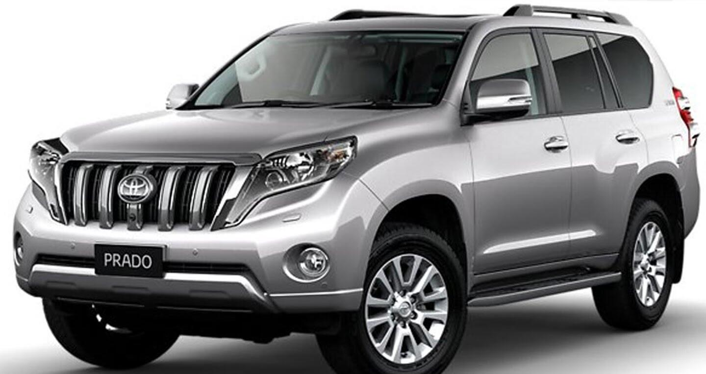 """Toyota Land Cruiser Prado 2018 tiếp tục lộ """"ảnh nóng"""" - Hình 3"""