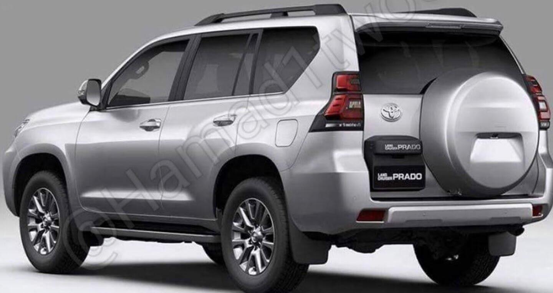 """Toyota Land Cruiser Prado 2018 tiếp tục lộ """"ảnh nóng"""" - Hình 4"""