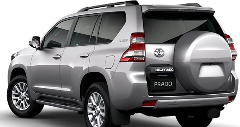 """Toyota Land Cruiser Prado 2018 tiếp tục lộ """"ảnh nóng"""" - Hình 5"""