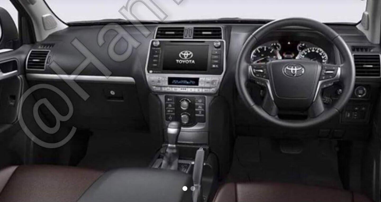 """Toyota Land Cruiser Prado 2018 tiếp tục lộ """"ảnh nóng"""" - Hình 6"""