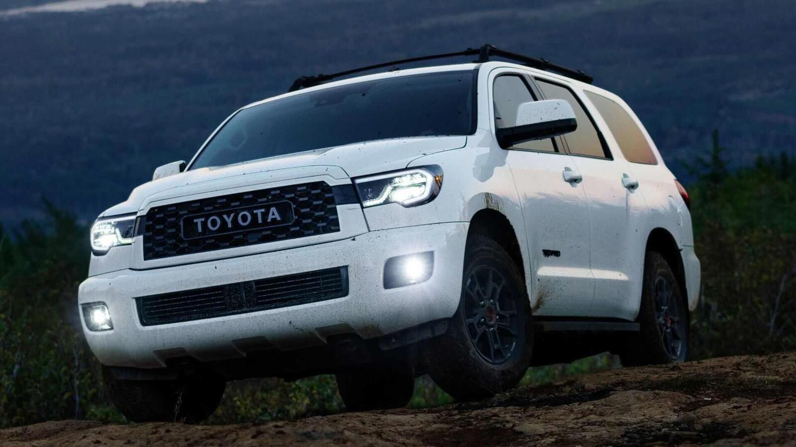 Toyota Sequoia TRD Pro 2020 ra mắt; trang bị phuộc FOX cải thiện khả năng vận hành - Hình 12