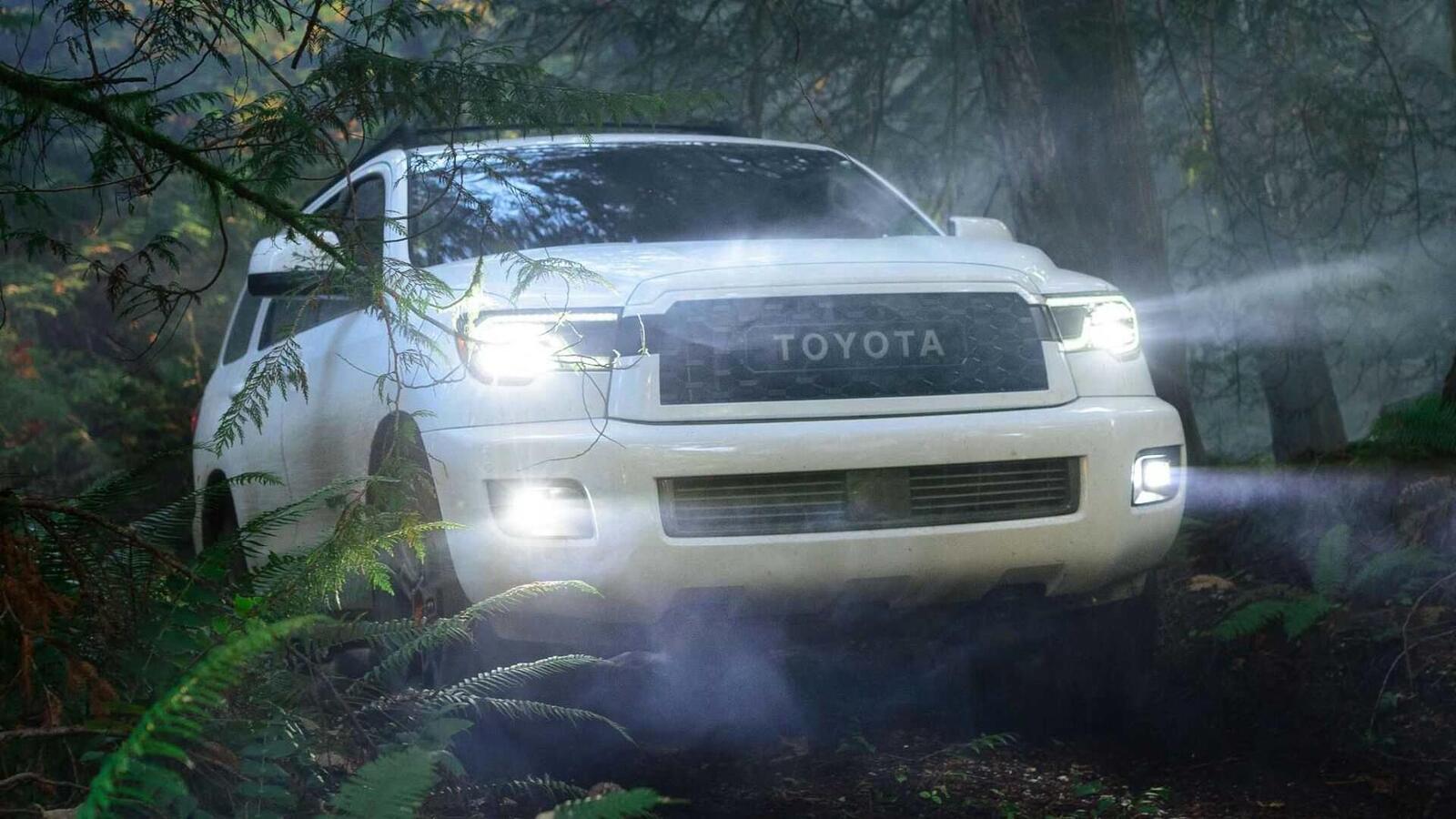 Toyota Sequoia TRD Pro 2020 ra mắt; trang bị phuộc FOX cải thiện khả năng vận hành - Hình 15