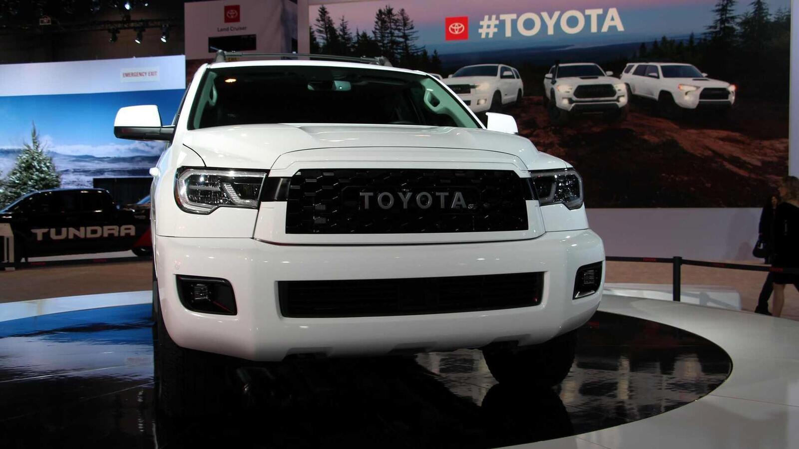 Toyota Sequoia TRD Pro 2020 ra mắt; trang bị phuộc FOX cải thiện khả năng vận hành - Hình 2