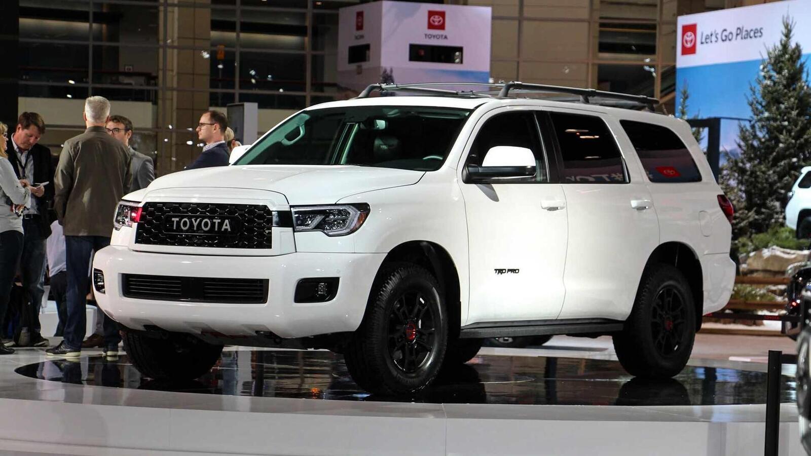 Toyota Sequoia TRD Pro 2020 ra mắt; trang bị phuộc FOX cải thiện khả năng vận hành - Hình 3