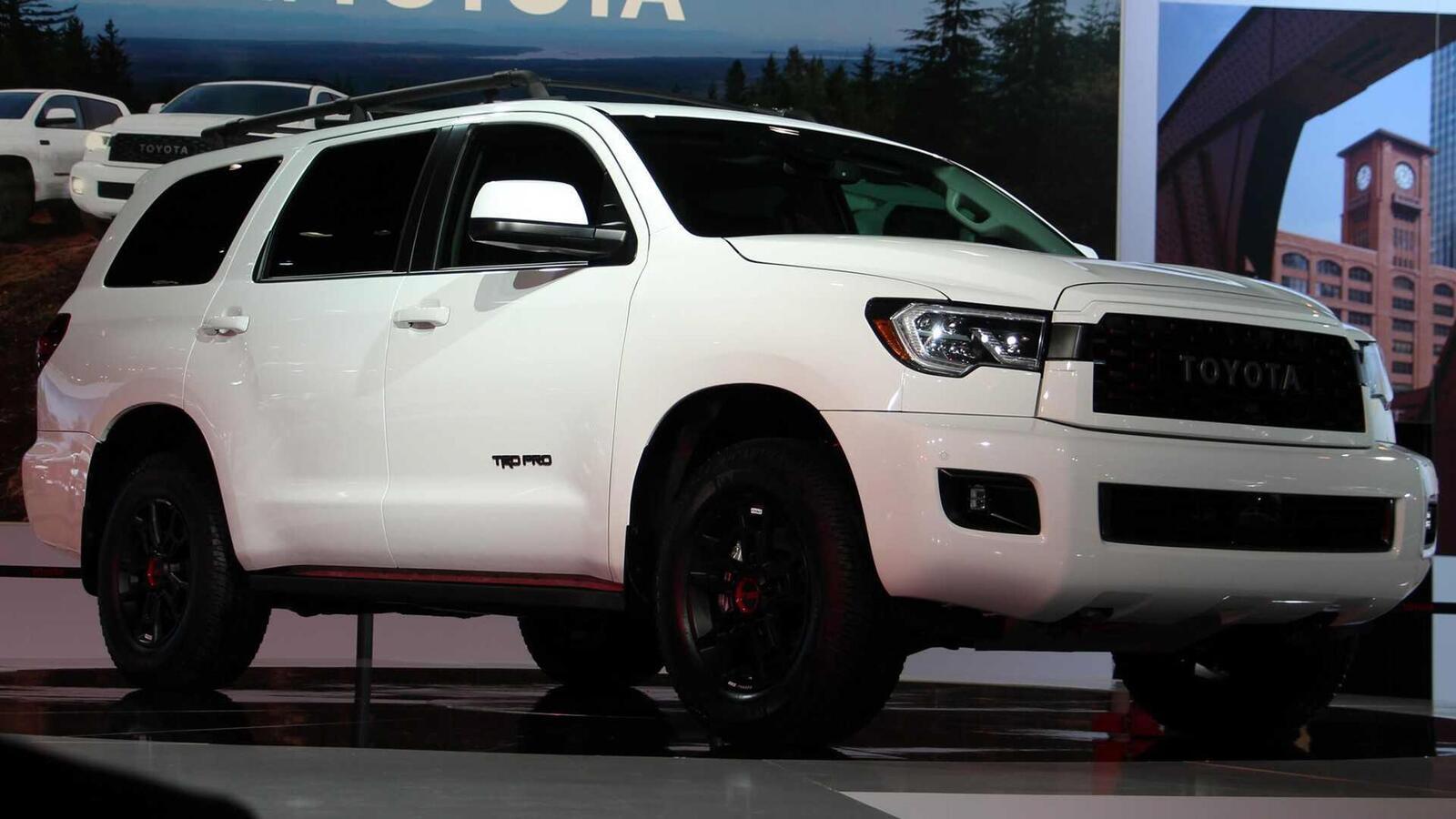 Toyota Sequoia TRD Pro 2020 ra mắt; trang bị phuộc FOX cải thiện khả năng vận hành - Hình 4