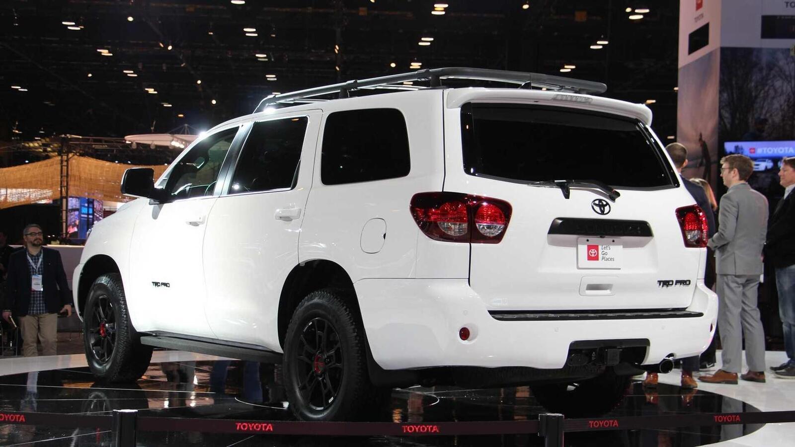 Toyota Sequoia TRD Pro 2020 ra mắt; trang bị phuộc FOX cải thiện khả năng vận hành - Hình 8