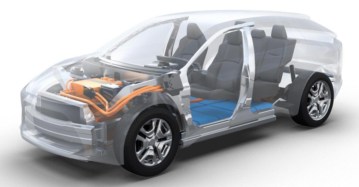 Toyota và Subaru hợp tác phát triển khung gầm - Hình 1
