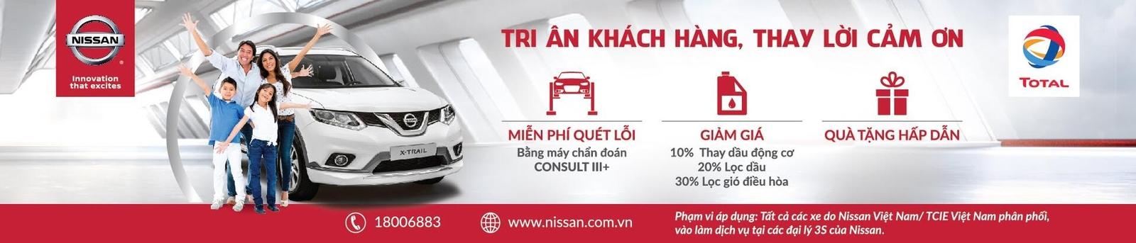 """Trải nghiệm ưu đãi """"Tri ân khách hàng, thay lời cảm ơn"""" từ Nissan Việt Nam - Hình 2"""