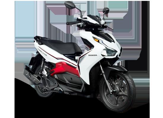 Phiên bản tiêu chuẩn (125cc_phanh CBS) Trắng đỏ đen