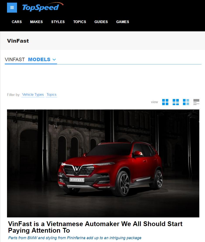 Truyền thông quốc tế: VinFast là start up ô tô… nhanh nhất thế giới - Hình 2