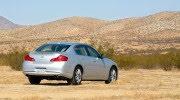 Tự lái Infiniti G37 xuyên qua sa mạc Nevada, nước Mỹ - Hình 17