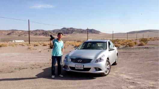 Tự lái Infiniti G37 xuyên qua sa mạc Nevada, nước Mỹ - Hình 18