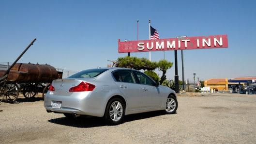 Tự lái Infiniti G37 xuyên qua sa mạc Nevada, nước Mỹ - Hình 19