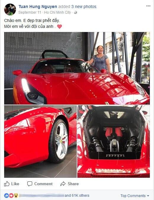 """Tuấn Hưng chi hơn 100 triệu đồng """"làm đẹp"""" siêu xe Ferrari 488 GTB - Hình 4"""
