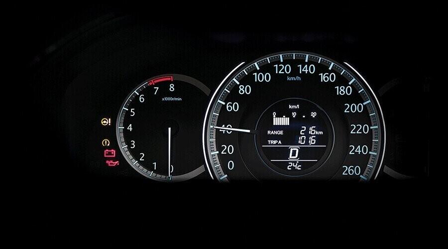 Chế độ hướng dẫn lái xe tiết kiệm nhiên liệu
