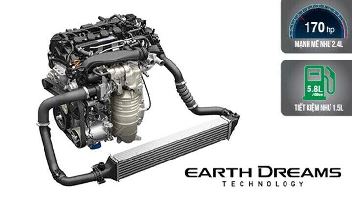 Động cơ 1.8L SOHC i-VTEC