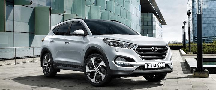 Hyundai Tucson được trang bị động cơ cùng hộp số tự động 6 cấp được tối ưu