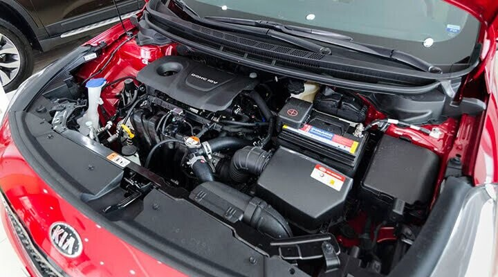 Khối động cơ máy xăng Gamma 1.6L mạnh mẽ