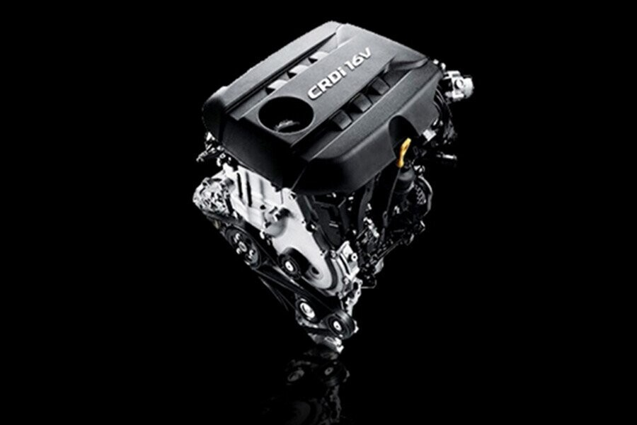 Động cơ Diesel 2.2L với công suất :195 hp/3800 rpm, momen xoắn: 422 – 437 Nm/ 1800 - 2500 rpm