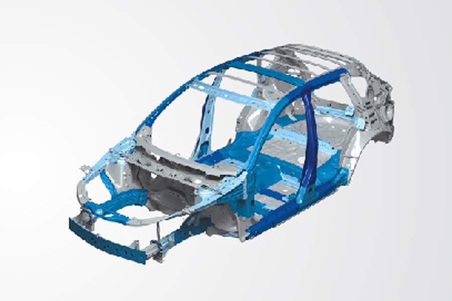 Khung gầm xe Mazda 3 Sedan 2.0L