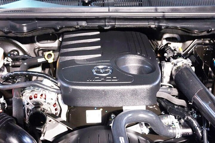 Động cơ dầu I4 MZ-CD mạnh mẽ