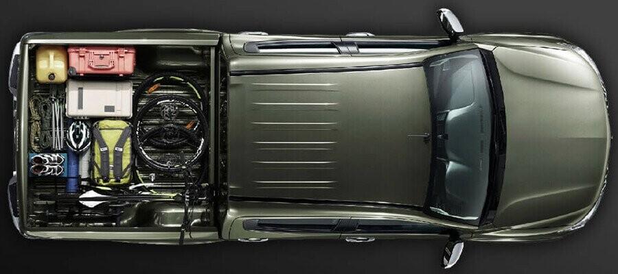 Mitsubishi Triton 4x2 MT tối ưu trọng lượng xe