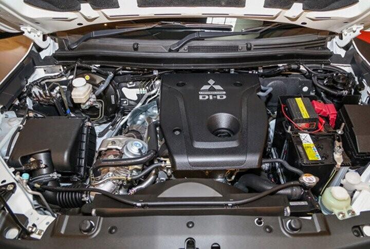 Động cơ 2.4L Diesel mạnh mẽ