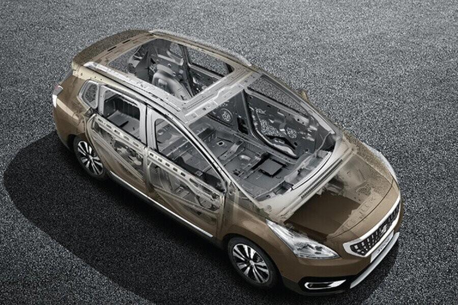 Thiết kế khung xe liền khối cứng cáp kết hợp cùng hệ thống treo độc lập