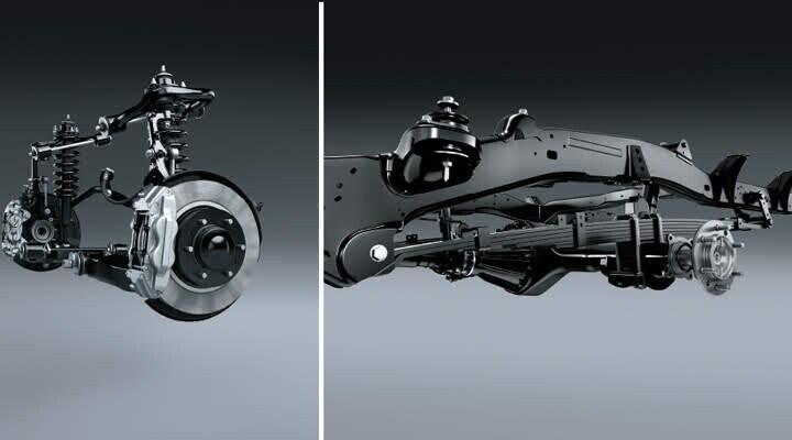 Hệ thống treo được cải tiến giúp xe vận hành ổn định và êm ái hơn
