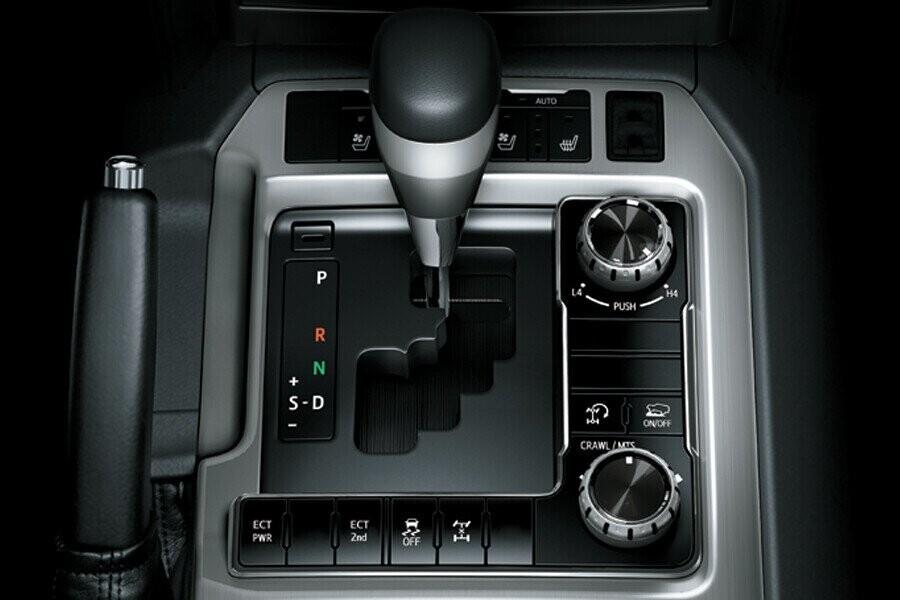 Vận hành Toyota Land Cruiser - Hình 2