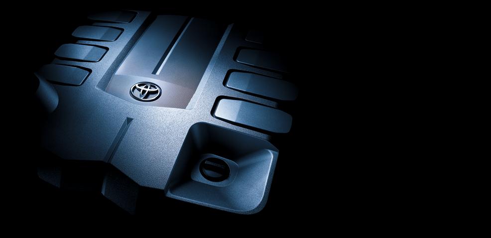 Động cơ 4.6 lít, V8 với công nghệ điều phối van biến thiên thông minh kép Dual VVT-i.