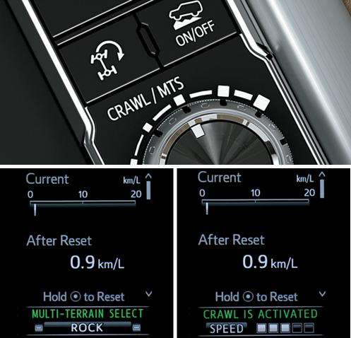 Hệ thống lựa chọn vận tốc địa hình và hệ thống thích nghi địa hình.