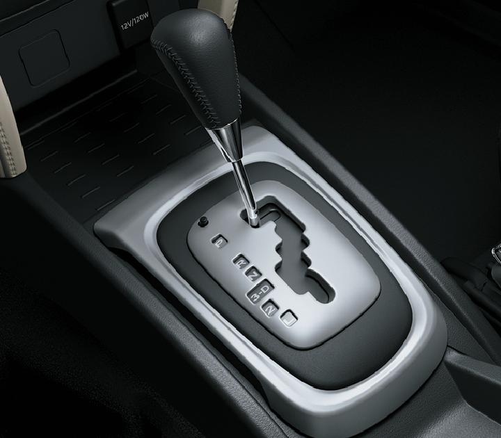 ộp số tự động 4 cấp được cải tiến giúp xe vận hành êm ái