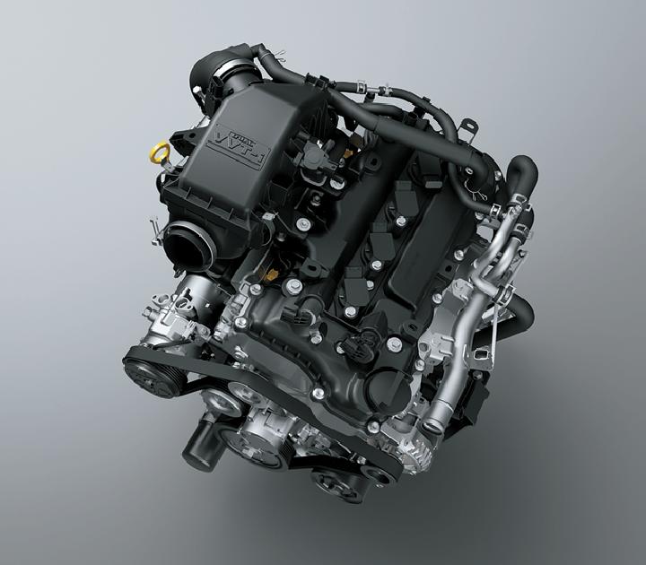 động cơ 4 xi-lanh, dung tích 1,5 lít mới, mang mã 2NR-FE