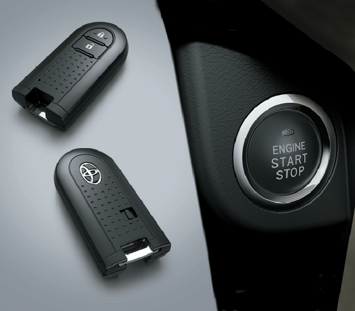 Hệ thống khởi động thông minh bằng nút bấm tạo sự thuận tiện tối đa cho khách hàng