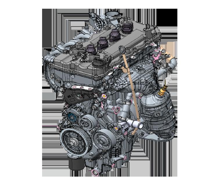 Động cơ tăng tốc tốt, tiết kiệm nhiên liệu và bền bỉ xuyên suốt chặng đường dài.