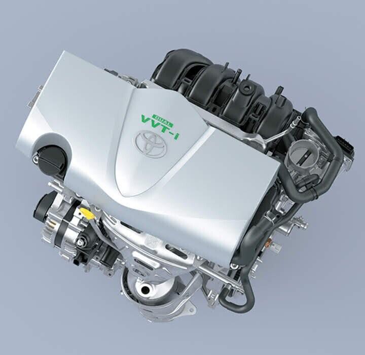 Động cơ 2NR-FE 1.5L mạnh mẽ