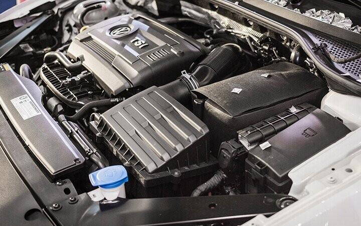 Xe được trang bị động cơ phun xăng trực tiếp có tăng áp khí nạp TSI