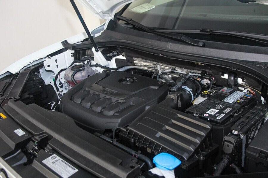 Xe được trang bị loại động cơ I4 – TSI mạnh mẽ