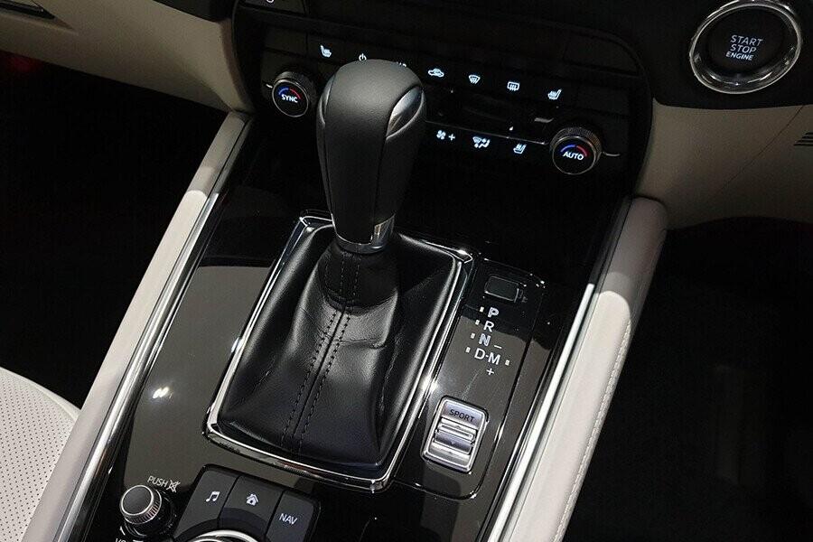 Hộp số tự động 6 cấp tiết kiệm nhiên liệu