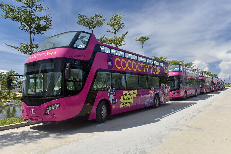 """Vào Đà Nẵng, """"cưỡi"""" xe bus 2 tầng giá 6 tỷ của Thaco - Hình 2"""