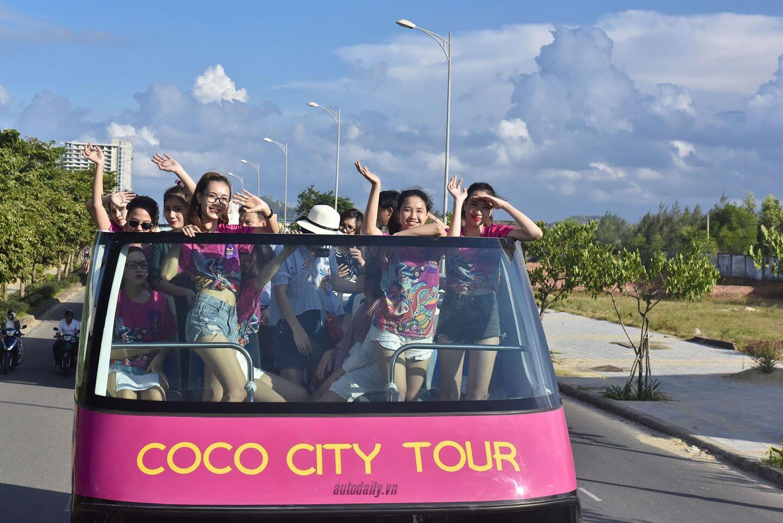 """Vào Đà Nẵng, """"cưỡi"""" xe bus 2 tầng giá 6 tỷ của Thaco - Hình 7"""