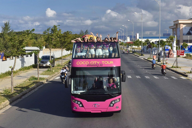 """Vào Đà Nẵng, """"cưỡi"""" xe bus 2 tầng giá 6 tỷ của Thaco - Hình 8"""